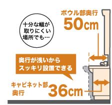 デッキ水栓タイプ
